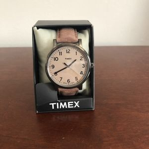 TIMEX Originals Easy Reader Beige Dial WatchT2N957